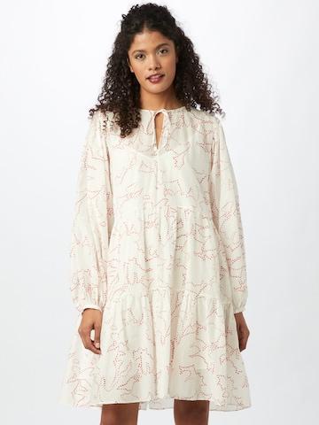 BOSS Casual Dress 'Decento' in White