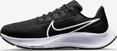 NIKE Laufschuh 'Air Zoom Pegasus 38' in schwarz / weiß, Produktansicht