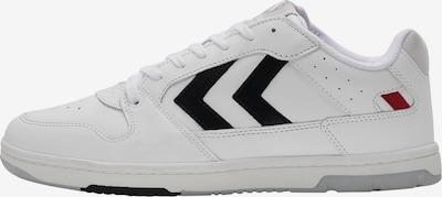 Hummel Baskets basses en gris clair / noir / blanc, Vue avec produit