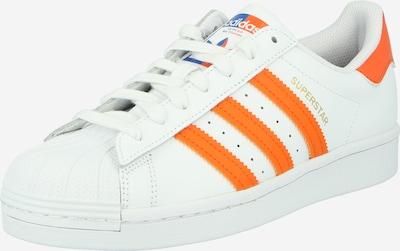 Sneaker low 'Superstar' ADIDAS ORIGINALS pe portocaliu închis / alb, Vizualizare produs
