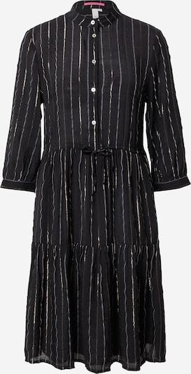 Rochie tip bluză Q/S designed by pe auriu / negru, Vizualizare produs