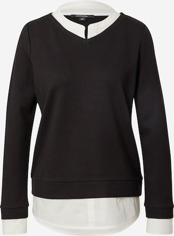 COMMA Sweatshirt in Schwarz
