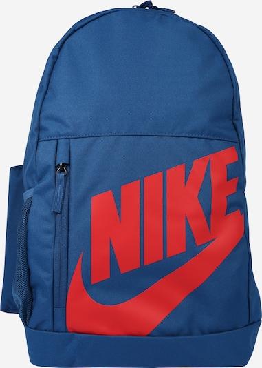 Nike Sportswear Rucksack in blau / rot, Produktansicht