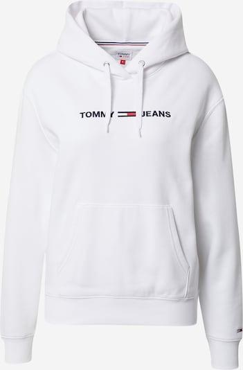 Bluză de molton Tommy Jeans pe albastru închis / alb, Vizualizare produs