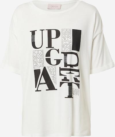 Cartoon T-Krekls, krāsa - melns / balts, Preces skats