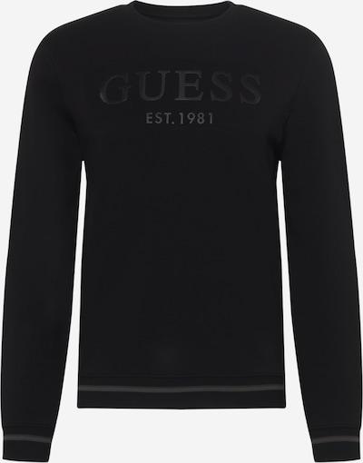 GUESS Μπλούζα φούτερ 'BEAU' σε μαύρο, Άποψη προϊόντος