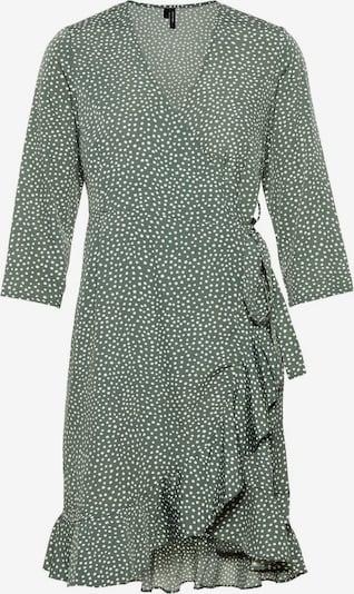 VERO MODA Kleid in grün / weiß, Produktansicht