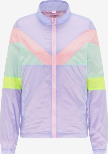 MYMO Jacke in pastellgelb / pastellgrün / pastelllila / pastellpink, Produktansicht