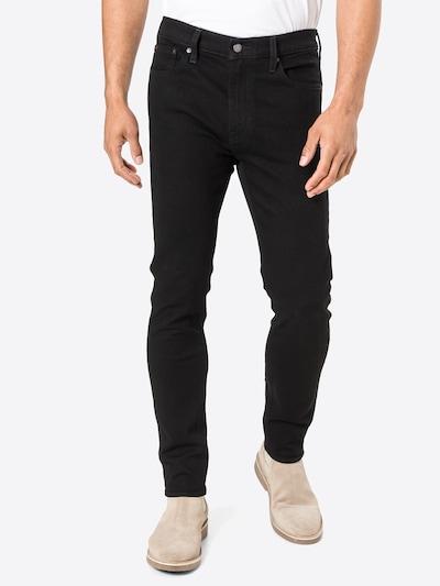 LEVI'S Jeans '510 SKINNY' in black denim, Modelansicht
