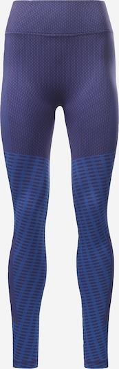 Pantaloni sport Reebok Sport pe albastru / mov închis, Vizualizare produs