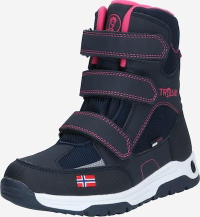TROLLKIDS Snowboots in navy / pink, Produktansicht