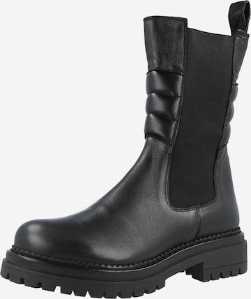 Ca'Shott Chelsea Boots in Schwarz