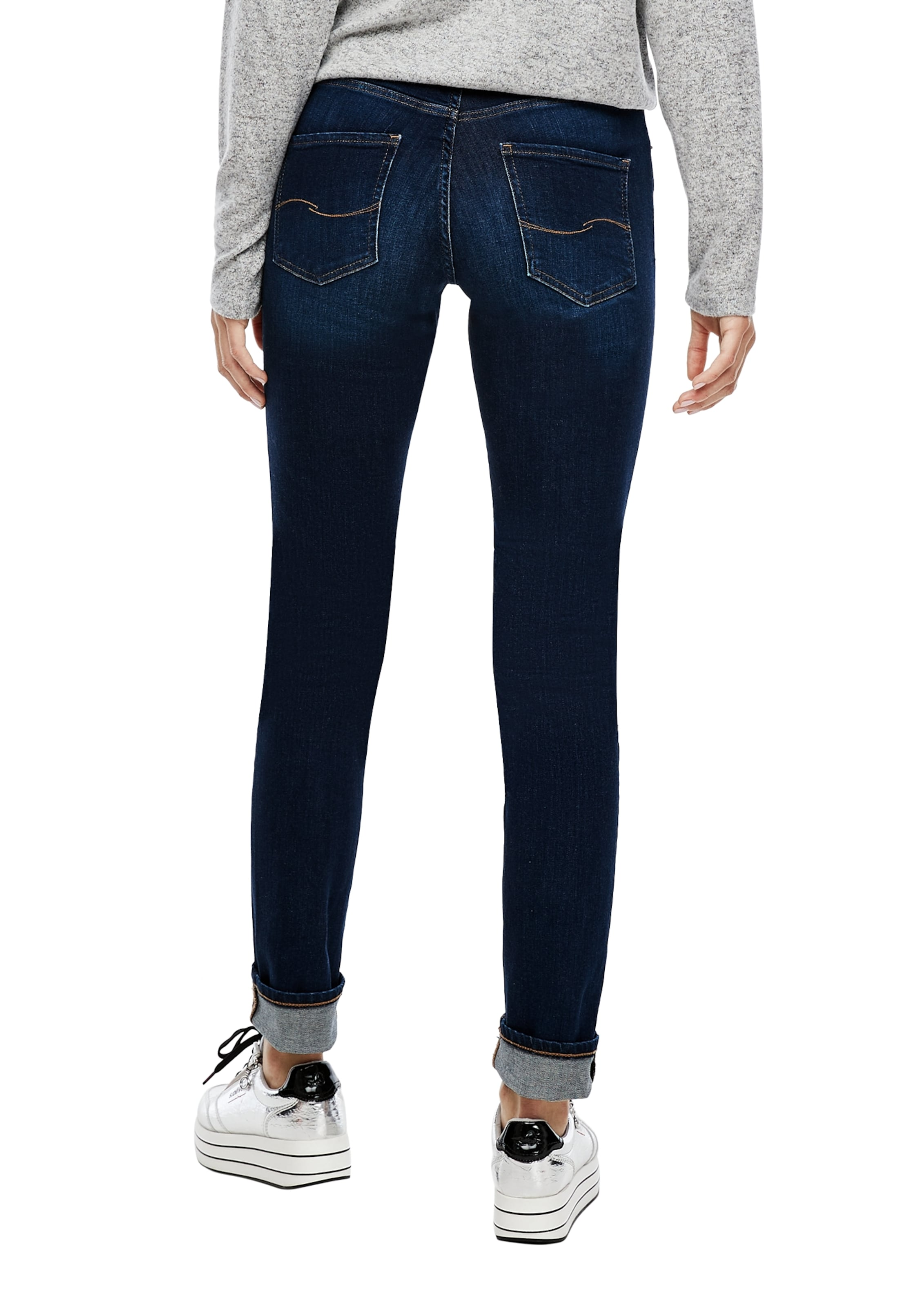 Q/S designed by Jeans in blue denim