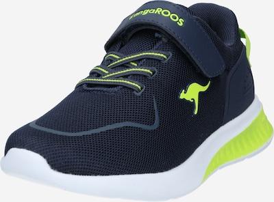 KangaROOS Sneaker 'KL-Bare EV' in navy / neongrün, Produktansicht