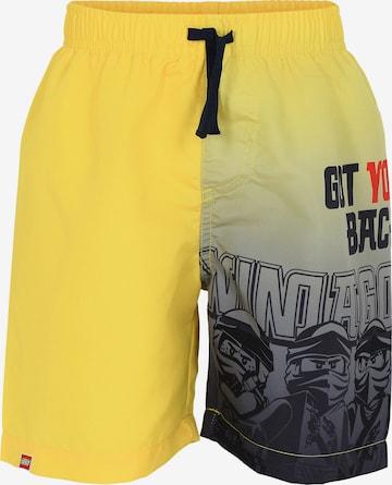 LEGO Board Shorts 'Ninjago' in Yellow