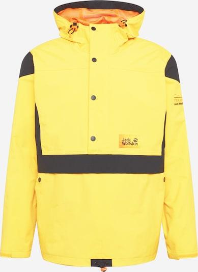 JACK WOLFSKIN Jacke in gelb / schwarz, Produktansicht