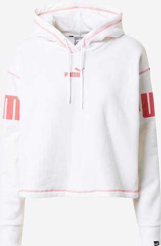PUMA Sportsweatshirt 'POWER' i hvit