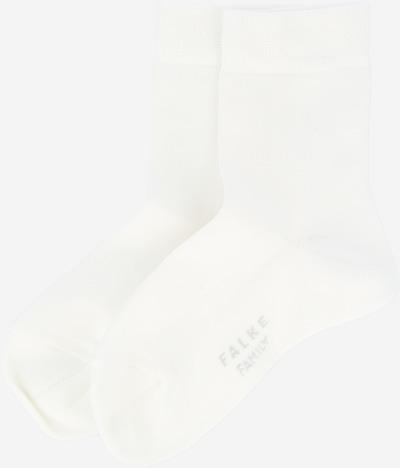 FALKE Sokken 'Family' in de kleur Rookgrijs / Wit, Productweergave