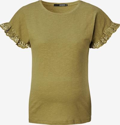 Supermom T-Shirt 'Broderie' in oliv, Produktansicht