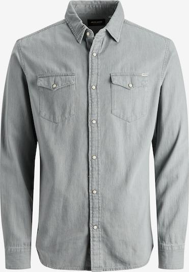 JACK & JONES Hemd 'HERIDAN' in grau / grey denim, Produktansicht