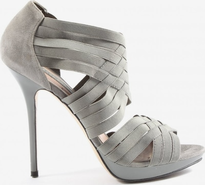 ZARA High Heel Sandaletten in 38 in hellgrau, Produktansicht