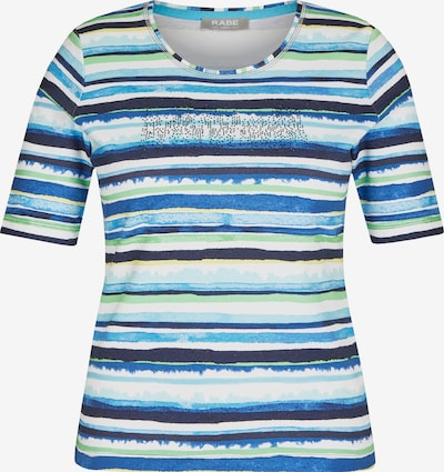 Rabe Shirt in hellblau / dunkelblau / hellgrün, Produktansicht