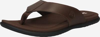 TIMBERLAND Sandalias de dedo 'Kesler Cove Thong' en marrón oscuro, Vista del producto