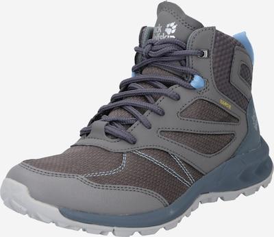 JACK WOLFSKIN Boots en bleu-gris / bleu clair / taupe, Vue avec produit
