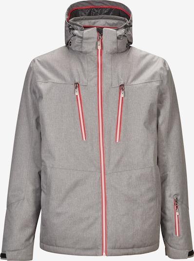 KILLTEC Outdoorová bunda 'Aceon' - šedá / červená, Produkt
