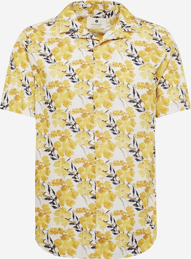 anerkjendt Hemd 'AKLEO' in gelb / schwarz / weiß, Produktansicht