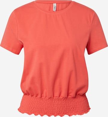 ONLY Skjorte 'DREA' i rød