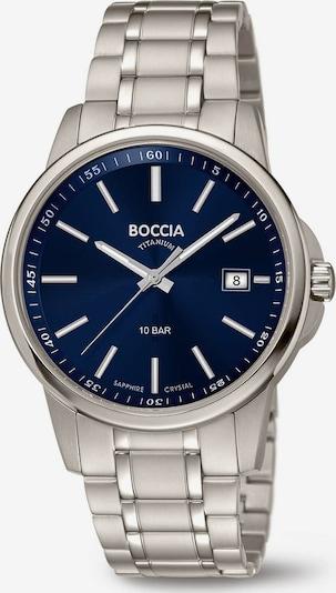 Boccia Titanium Uhr in blau / silber, Produktansicht