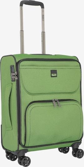 Stratic Bendingo Light 4-Rollen Kabinentrolley 48 cm in grün, Produktansicht