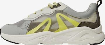 MANGO Sneakers 'Iola' in Grey