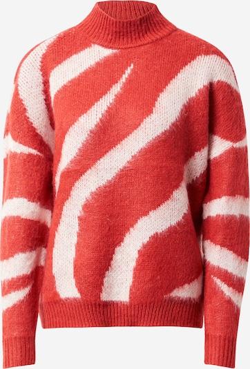 Megztinis 'TAWA' iš ONLY , spalva - raudona / balta: Vaizdas iš priekio