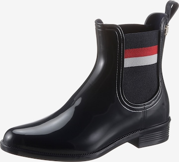 TOMMY HILFIGER Chelsea Boots in Blau