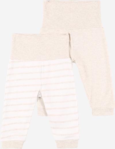 JACKY Pantalon en beige / blanc, Vue avec produit
