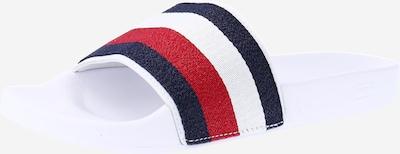 TOMMY HILFIGER Šľapky - námornícka modrá / červená / biela, Produkt