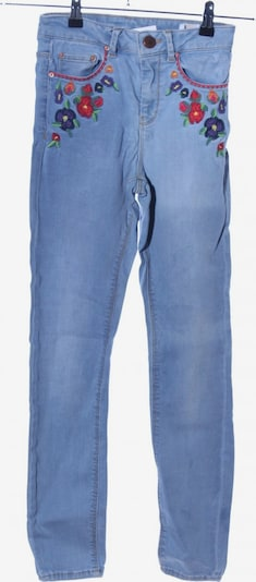 ASOS DESIGN Skinny Jeans in 22 in blau / pink, Produktansicht