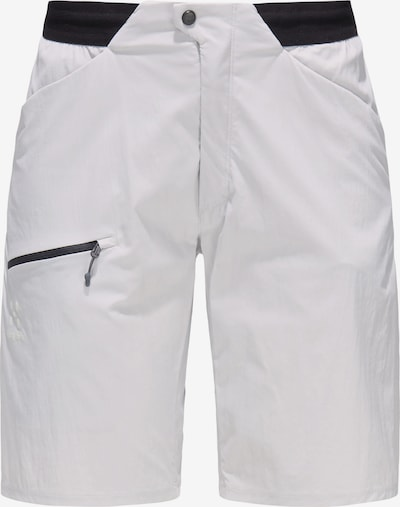 Haglöfs Outdoorhose 'L.I.M Fuse' in hellgrau / schwarz, Produktansicht