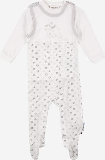 JACKY Set  'NOS TENCEL' in grau / weiß, Produktansicht