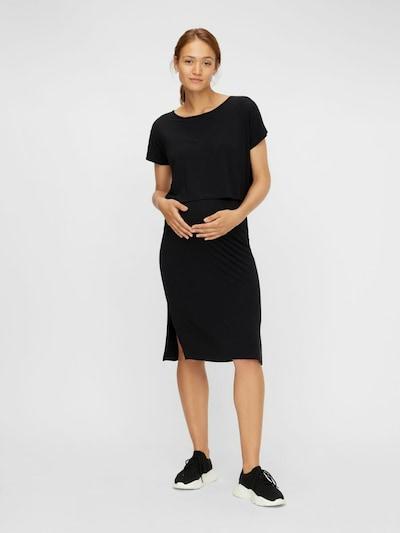 MAMALICIOUS Jurk 'MLJILL JUNE' in de kleur Zwart, Modelweergave
