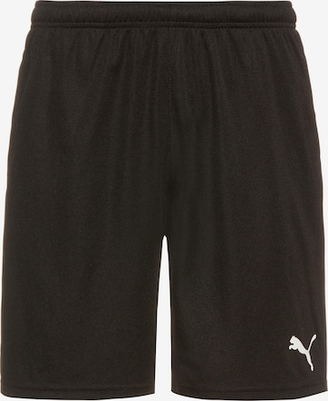 PUMA Workout Pants 'TeamRISE' in Black