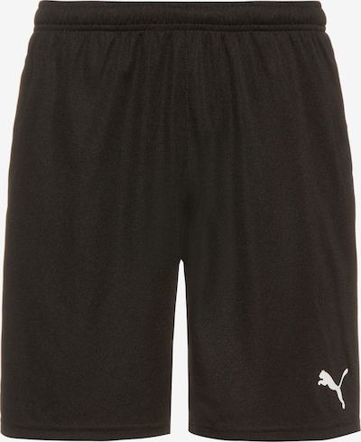 PUMA Hose 'TeamRISE' in schwarz / weiß, Produktansicht