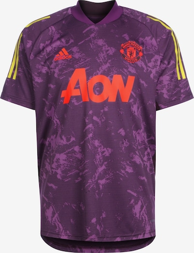 ADIDAS PERFORMANCE Trikot 'Manchester United' in gelb / lila / orange, Produktansicht