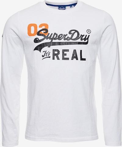 Superdry Shirt 'American Classic' in Orange / Black / White, Item view