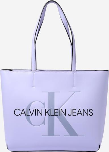 Calvin Klein Jeans Shoppingväska i lavendel / svart, Produktvy