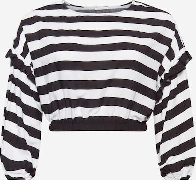 Guido Maria Kretschmer Curvy Collection T-shirt 'Ellen' en noir / blanc, Vue avec produit