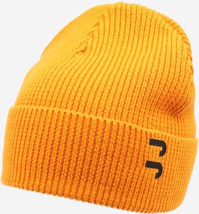 JACK & JONES Mütze in mandarine / schwarz, Produktansicht