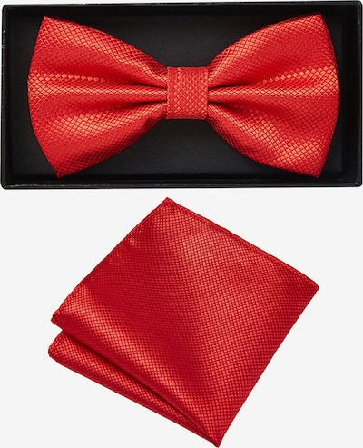 Massi Morino Herren Fliege Set in rot, Produktansicht
